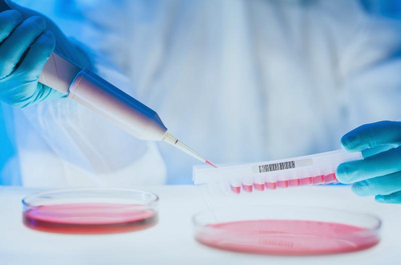 Laboratory testing DNA